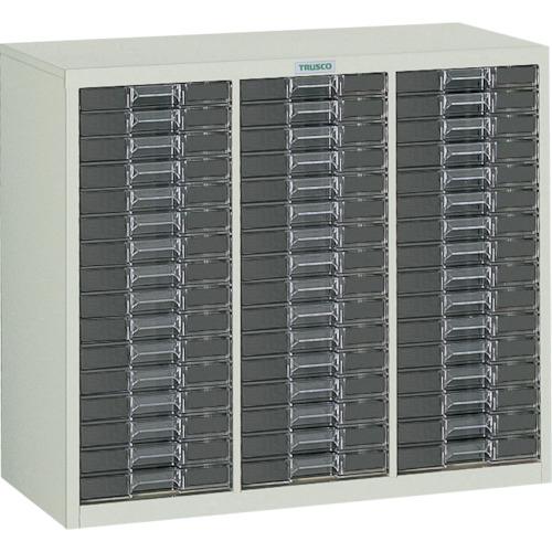 TRUSCO カタログケース 浅型3列16段 885X400XH700(LB3C16)