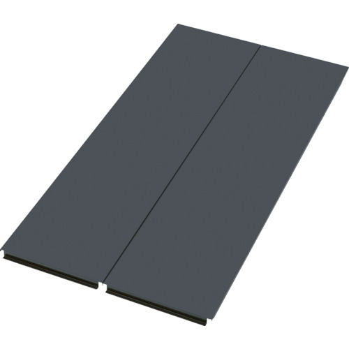 TRUSCO 軽量ボルトレス棚TSUF型用背板(TSUFS63ABK)