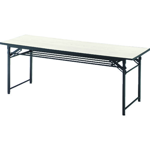TRUSCO 折りたたみ会議テーブル 1800X450XH700 チーク(TCT1845)