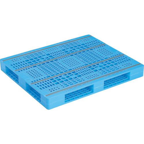 サンコー プラスチックパレット R4ー1012ー2(SKR410122BL)*代引き不可、個人宅配送不可