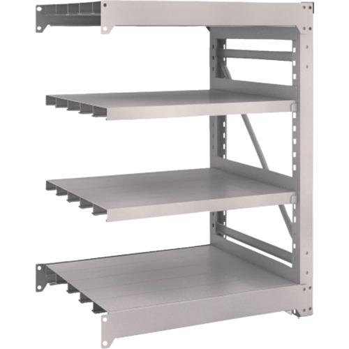 TRUSCO M10型重量棚 900X760XH1200 4段 連結 ネオグレ(M104374B)