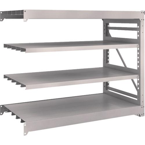 TRUSCO M10型重量棚 1500X760XH1200 4段 連結 ネオグレ(M104574B)