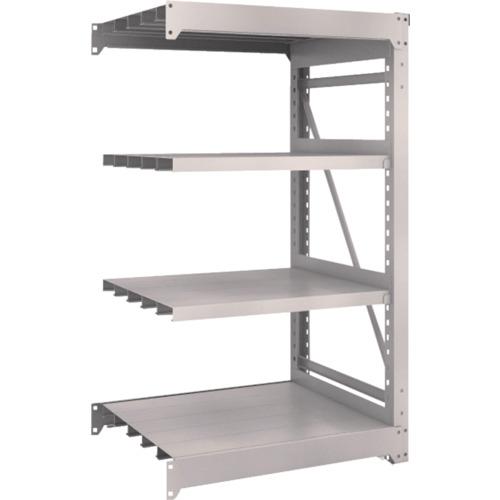 TRUSCO M10型重量棚 900X760XH1500 4段 連結 ネオグレ(M105374B)