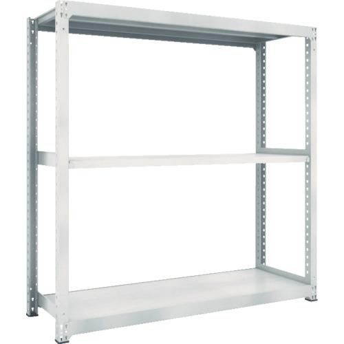 専門店では TRUSCO M3型中量棚 1800X721XH1800 3段 単体 ネオグレ(M36673):ペイントアンドツール-DIY・工具