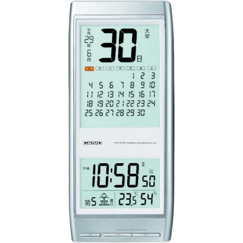 カシオ 電波掛け時計(IDC310J8JF)