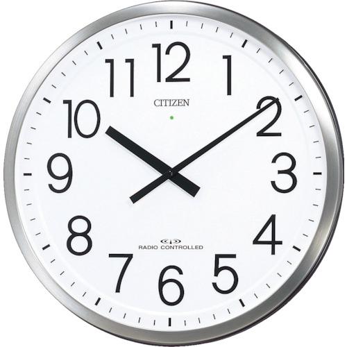 シチズン パルフィスF(電波掛時計)ステンレス材 銀色ヘアライン仕上(4MY660N19)