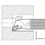 京セラ 内径加工用ホルダ(E12QSDQCR0716A23)