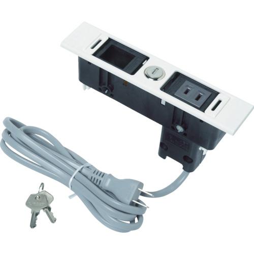 スガツネ工業 デスクトップマルチタップDML型(210-020-480)(DMLPBLWT)