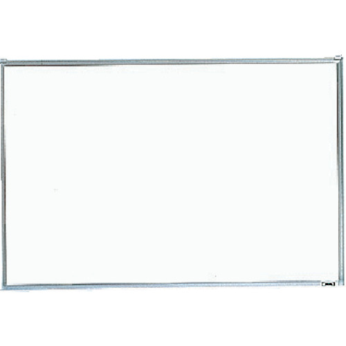 TRUSCO スチール製ホワイトボード 無地 粉受付 900X1800(GH102)