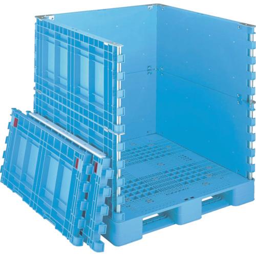 リス パレットボックスBJB-S・1111X115上下一面扉11 ブルー(BJBS1111X115UDS11)