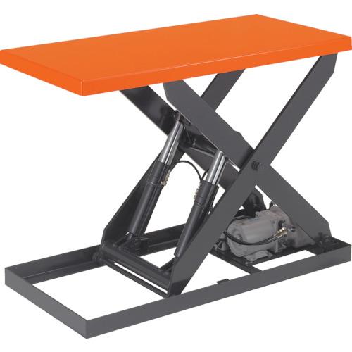 TRUSCO テーブルリフト1000kg 油圧式 600X1200(HDL1000612)