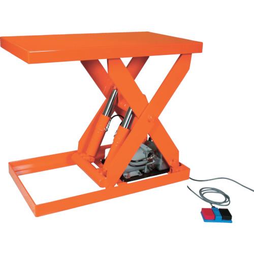 TRUSCO テーブルリフト1000kg 油圧式 600X1500(HDL1000615)
