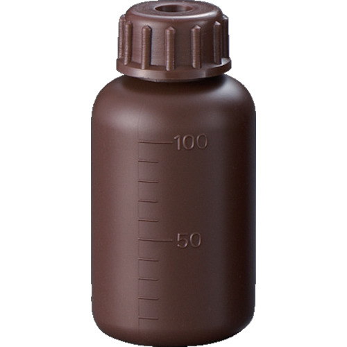 サンプラ PE細口遮光瓶 100ml(2810)