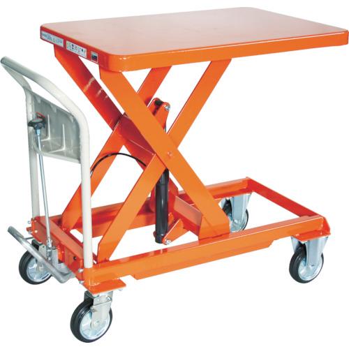 最新作の TRUSCO ハンドリフター 500kg 600X900 オレンジ(HLFS500):ペイントアンドツール-DIY・工具