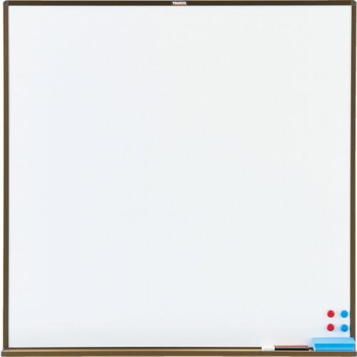 TRUSCO スチール製ホワイトボード 白暗線 白 900X900 白(WGH33SA)