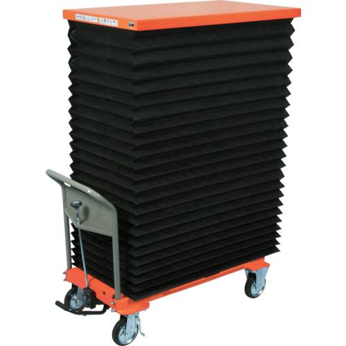 TRUSCO ハンドリフター 1000kg 600X1350 蛇腹付(HLFE1000J)
