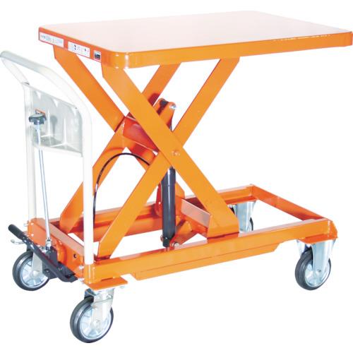 TRUSCO ハンドリフター 500kg 600X900 オレンジ(HLFE500)