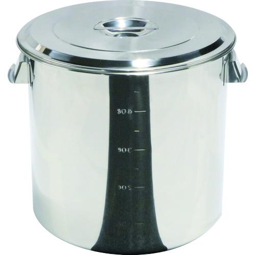 スギコ ステンレスキッチンポット蓋付 600x600 165L 手付(SH4660)