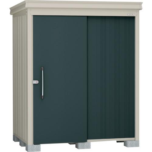 ダイケン 物置ガーデンハウス DM-Z1713棚板付一般型 マカダムグリーン(DMZ1713MG)