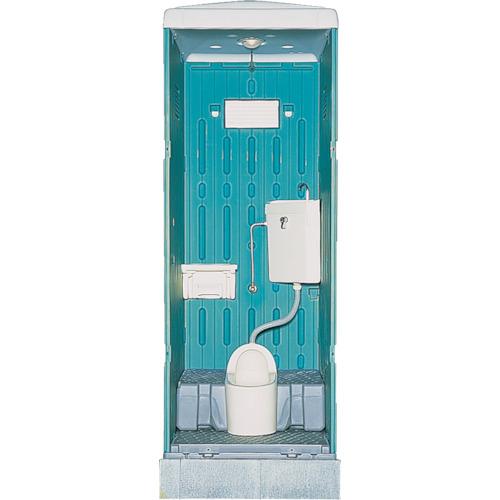 日野 水洗式トイレ和式 グリーン(GXASGN)