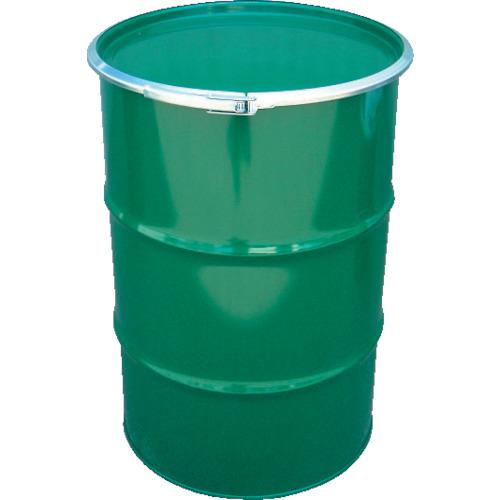 JFE 鋼製ドラム缶 オープンタイプ 外レバー式 200L(KD200LSTS)代引き不可