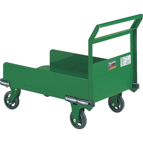 TRUSCO 鋼鉄製運搬車 900X600 三面パネル付(OH23P)