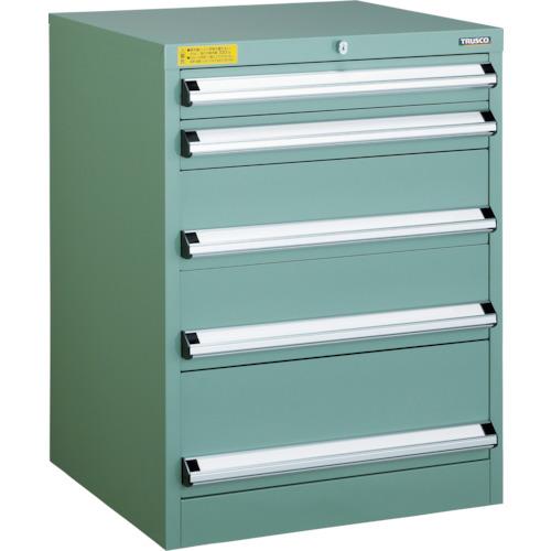 輝い TRUSCO VE6S型キャビネット 600X550XH800 引出5段(VE6S807):ペイントアンドツール-DIY・工具