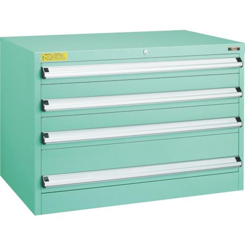 TRUSCO VE9S型キャビネット 880X550XH600 引出4段(VE9S602)