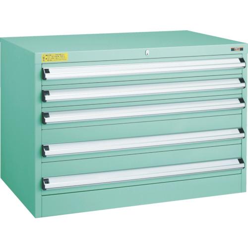 TRUSCO VE9S型キャビネット 880X550XH600 引出5段(VE9S605)