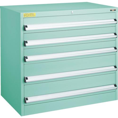 TRUSCO VE9S型キャビネット 880X550XH880 引出5段(VE9S801)