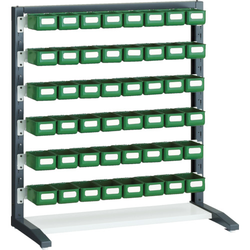 TRUSCO UPRラック片面 H1000 K-10HYG 48個付(UPRL1006C)