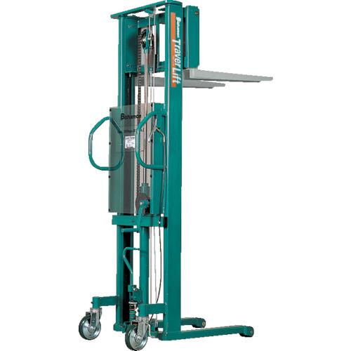 ビシャモン トラバーリフト(手動油圧式)早送り装置付(ST38H)