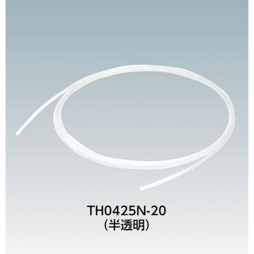 SMC FEPチューブ(フッ素樹脂) 6×4mm 20m 黒(TH0604B20)