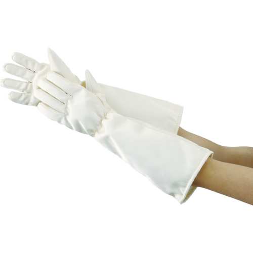 TRUSCO クリーンルーム用耐熱手袋50CM(TMZ783F)
