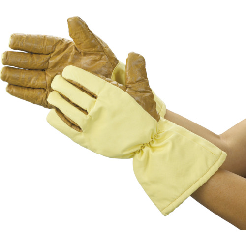 TRUSCO クリーンルーム用耐熱手袋 33CM フリーサイズ(TPG651)