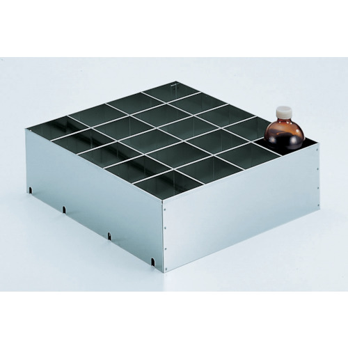 TRUSCO 耐震薬品庫 SW型用仕切板 500MLビンX20本用(SW500SS)