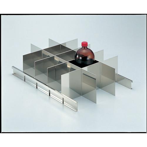TRUSCO 耐震薬品庫 SY型用仕切板セット 1LビンX15本用(SY1000SS)