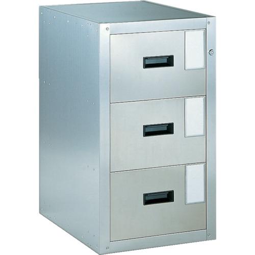 TRUSCO 耐震薬品庫 455X600XH800 3段引出型(SY3)