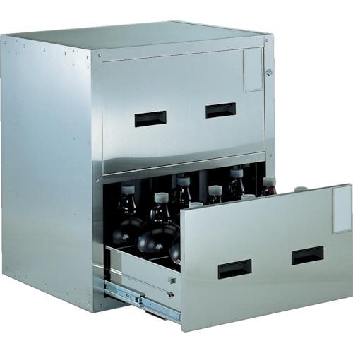 TRUSCO 耐震薬品庫 705X600XH800 2段引出型(SYW2)
