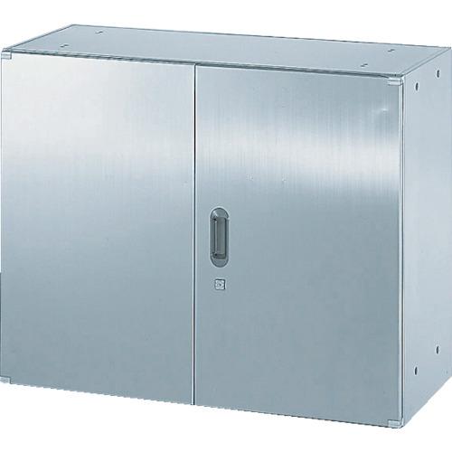 TRUSCO ステンレス保管庫(D500)両開 900XH720(STH57)