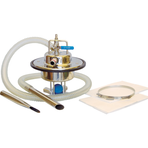 アクアシステム エア式乾湿両用ステンレス製掃除機(オープンペール缶専用)(AVC550SUS)