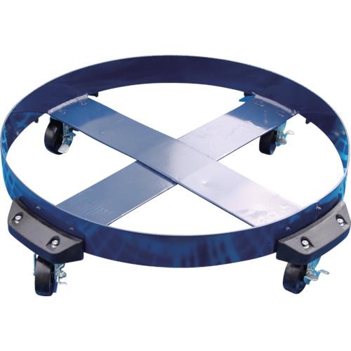 アクアシステム ドラム缶用キャリー ゴム製タイヤ(最大耐荷重400kg)(DCNBR)
