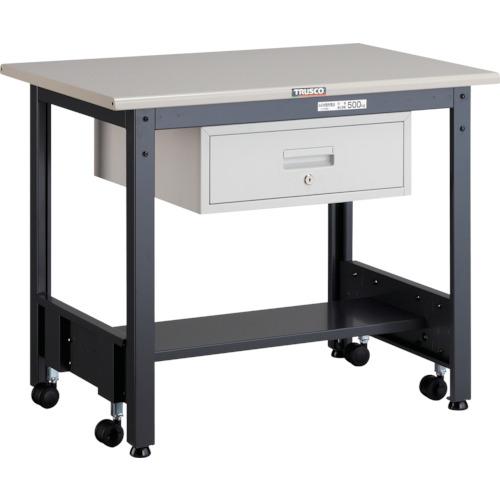 TRUSCO CFWS型作業台 900X600XH740 1段引出付(CFWS0960F1)