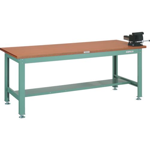 超人気新品 TRUSCO HW型作業台 1800X750XH740 バイス付(HW1800VRS):ペイントアンドツール-DIY・工具