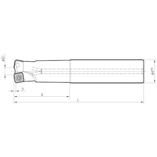 京セラ ミーリング用ホルダ(MFH25S25102T200)