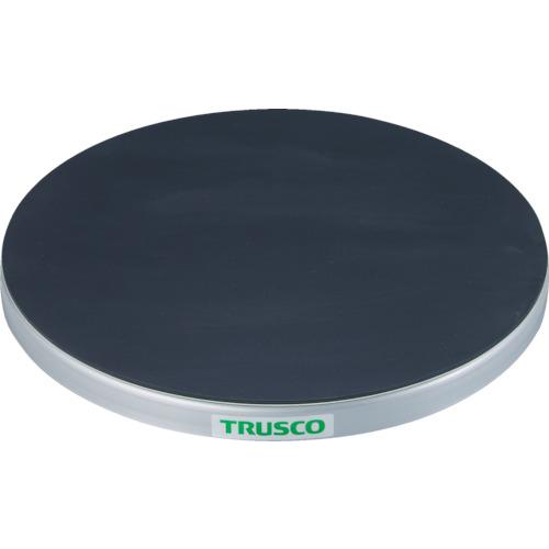 TRUSCO 回転台 100Kg型 Φ400 ゴムマット張り天板(TC4010G)
