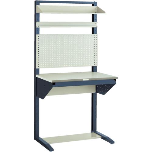 TRUSCO ライン作業台 片面 パネル・棚板型 W900(ULRT900B)