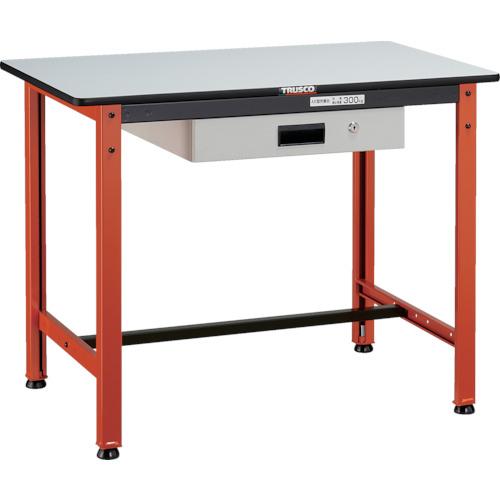 TRUSCO TFAEL型作業台 薄型1段引出付 900X600XH740(TFAEL0960UDK1)