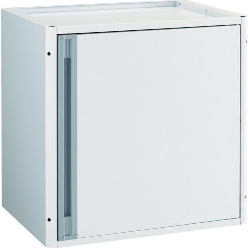 TRUSCO カスタムワゴン用 開き戸キャビネット ホワイト(中棚板付)(TACTSETW)