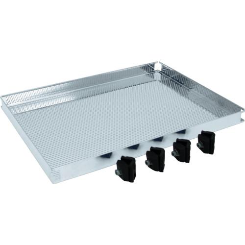 TRUSCO ステンレス製導電性ワゴン用棚板 750X450 パンチング(TT32TP)